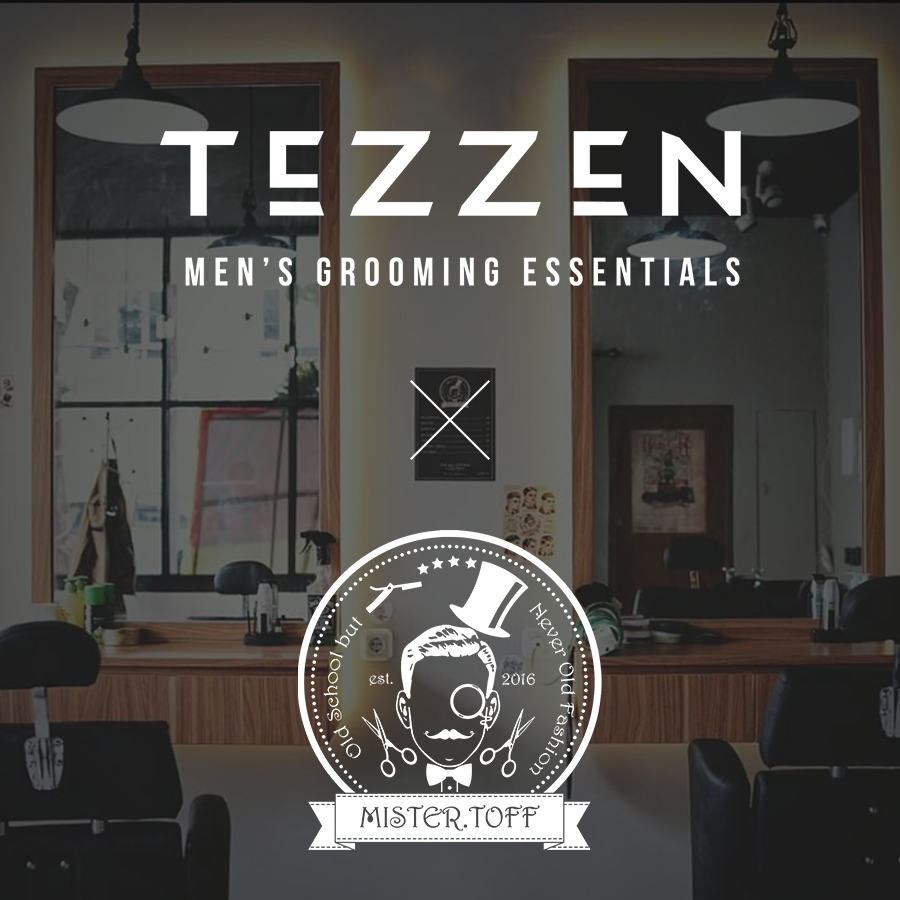 Tezzen Mens Grooming Essentials Alpha Waterbased Pomade X Mister Toff Barbershop